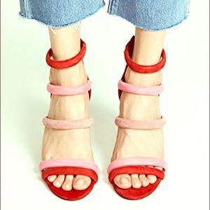 NWT Rebecca Minkoff 'Andree' tubular block heels